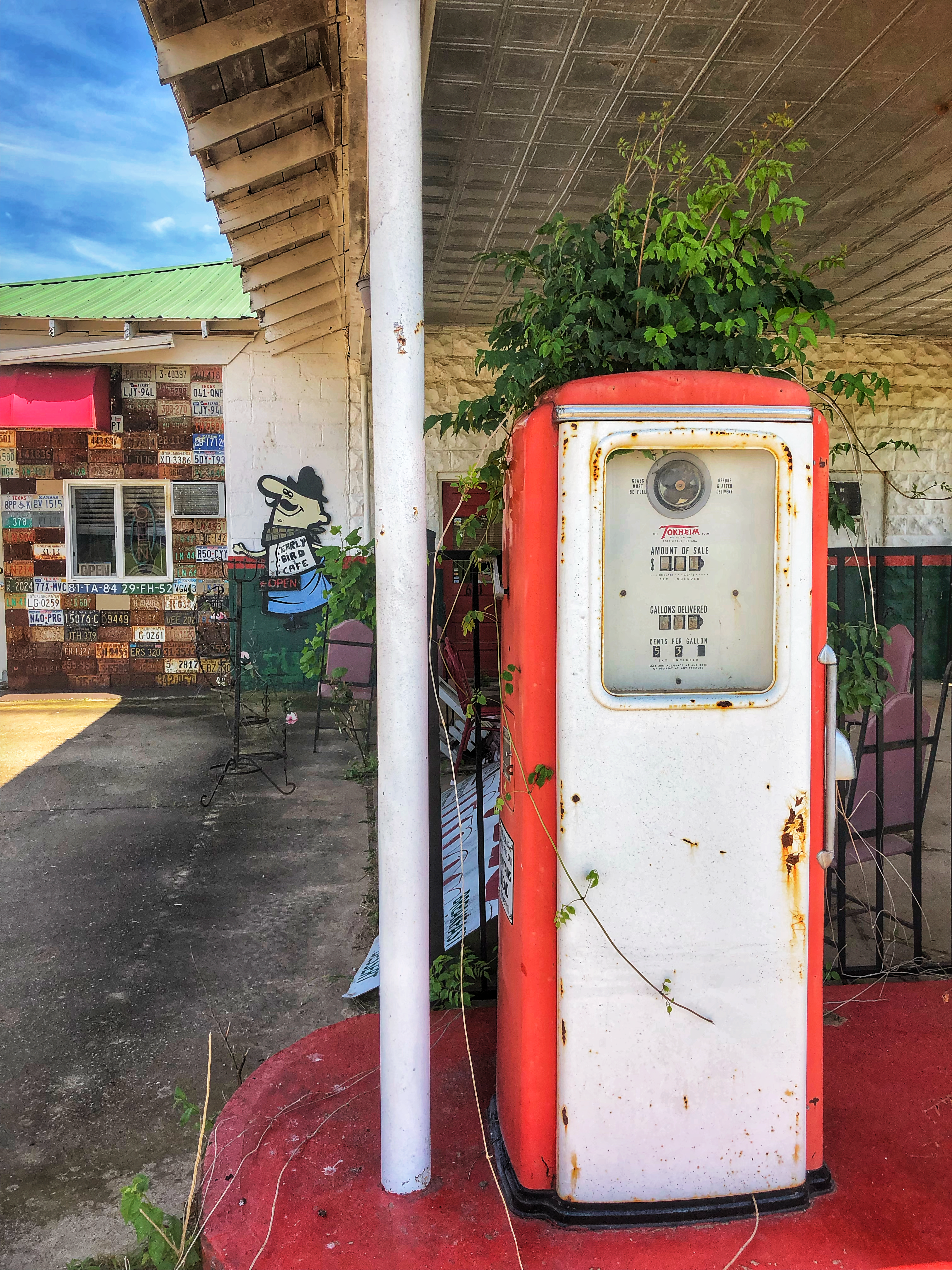 Get Your Kicks Chandler Davenport And Wellston And Old Gas Stations Galore The Oklahoma Explorer